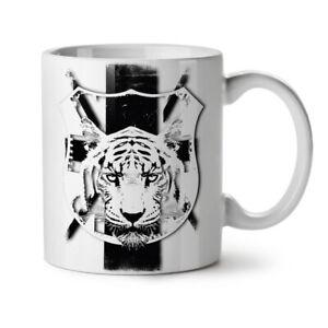 Tiger Calm Face Animal NEW White Tea Coffee Mug 11 oz | Wellcoda