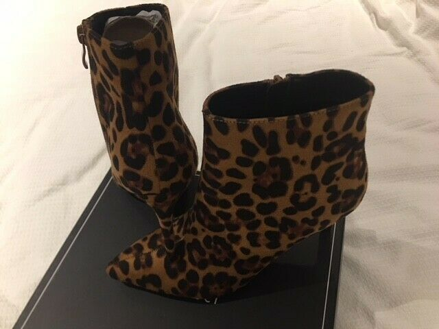 ANIMAL PRINT GORGEOUS BOOTS BOOTS BOOTS BRAND NEW SIZE 37 UK 4 3a6ba7