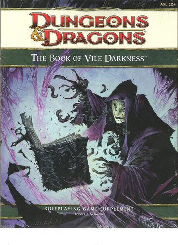 Wotc d & d - 4e d20 buch vile darkness  dungeons drachen vgc rpg