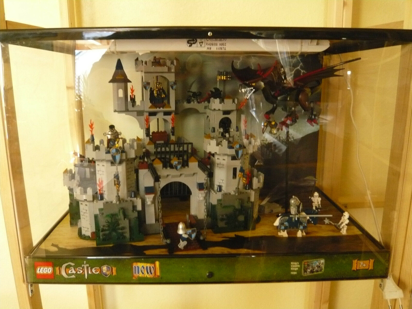 LEGO - Schaukasten - CASTLE NEW - Art.7094 - Showcase