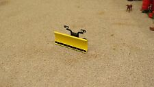 1/64 SCALE M2 CASTLINE LOOSE 8 FOOT MEYERS SNOWPLOW SNOW PLOW BLADE ONLY -YELLOW