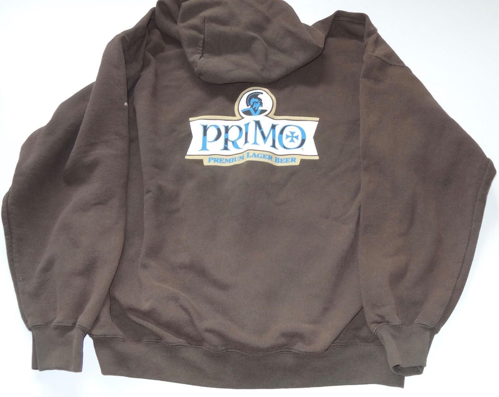 EVintage (XL) PRIMO BEER LONG SLEEVE HOODIE Rare