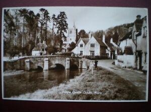 POSTCARD RP WILTSHIRE CASTLE COMBE  NICE VIEW OF BRIDGE - Tadley, United Kingdom - POSTCARD RP WILTSHIRE CASTLE COMBE  NICE VIEW OF BRIDGE - Tadley, United Kingdom