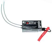 2.4GHz Empfänger DSMX und DSM2 Spektrum Kompatibel Receiver, 6 Kanäle   G-124