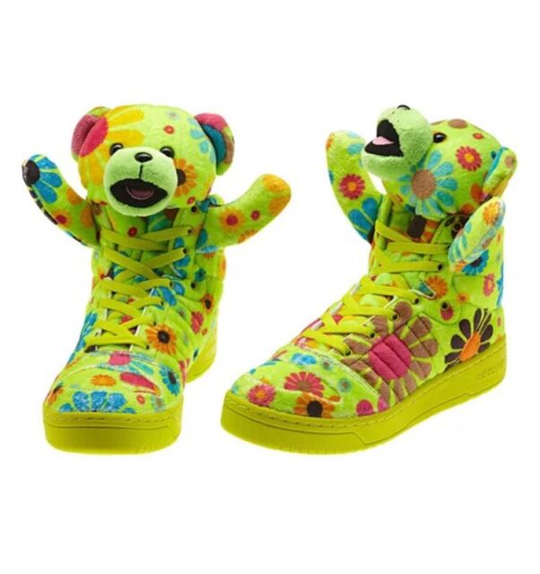 purchase cheap 3ee83 c69a1 ADIDAS JS BEAR JEREMY SCOTT HIPPIE NWT! Size 7