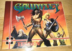 1987-GAUNTLET-Adventure-Game-INSTRUCTION-BOOKLET-Manual-ONLY-Nintendo-NES-TENGEN