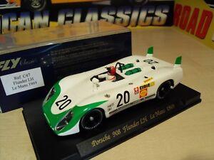 100% De Qualité Fly C47-porsche 908 Poissons Plats Lh *** Le Mans 1969 *** - Brand New In Box-afficher Le Titre D'origine 100% De MatéRiaux De Haute Qualité