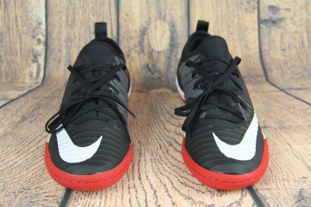 85736259d Nike MercurialX Finale II IC Indoor Court Soccer Shoes Black Red 831974-002  SZ 6