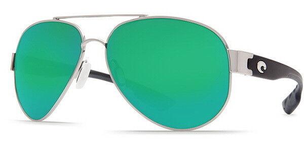 9d168088732 Costa Del Mar South Point so 21 Palladium Aviator Sunglasses Green 580p