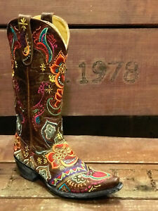 2ea0c0bf380 Details about OLD GRINGO OLIVA LADIES BOOTS L1629-3 - FREE SHIPPING