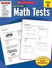 Math Tests, Grade 6 by Scholastic US(Paperback / softback)