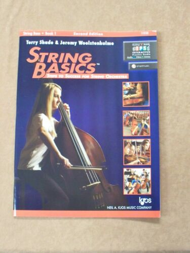 STRING BASICS STRING BASS BOOK 1 SECOND EDITION **BRAND NEW**