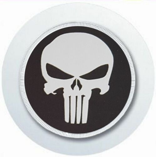 THE PUNISHER CAR TAX DISC HOLDER REUSABLE PARKING PERMIT HOLDER