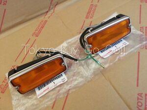 Toyota Land Cruiser Side Turn Signal Lamp Rh Lh Set New