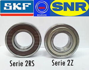 Details about Bearing Ball Bearing Series 2z - 2rs all the Range - Brands  SNR, NSK,SKF Zz - Rs