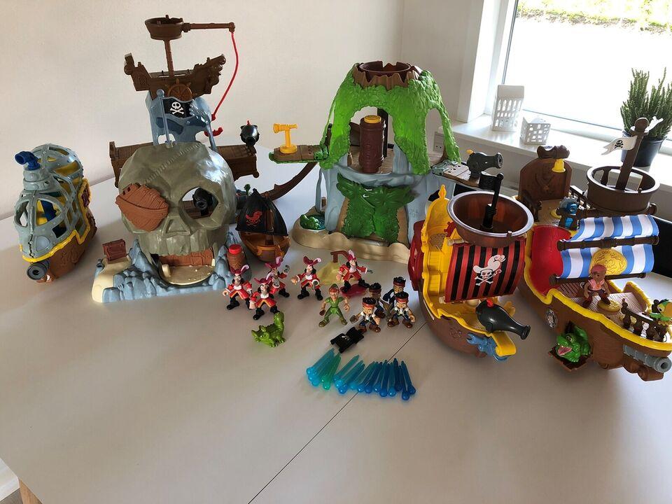 Disney, Jake og ønskeøens pirater, Disney