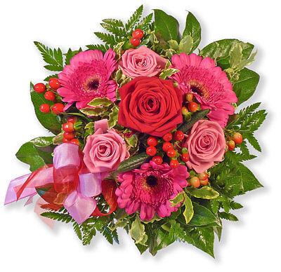 """KöStlich Blumenversand Blumenstrauß """"herzensgrüße"""" Top Wassermelonen Blumensträuße"""