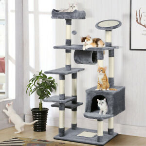 62-039-039-Large-Cat-Tree-Tower-Condo-Furniture-Scratch-Post-Kitty-Pet-House-Play-Gray