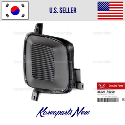 Front Bumper Blank Right PASSENGR Fog Lamp Cover 86524A9000 KIA SEDONA 2015-2018