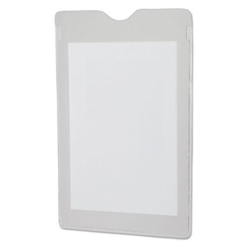 Oxford Utili-Jacs Heavy-Duty Clear Plastic Envelopes 3 x 5 50//Box 65005