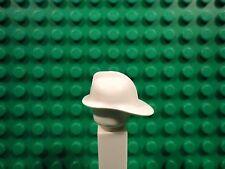 Lego mini figure 2 White Fireman helmet NEW