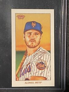 Pete Alonso - Topps T-206 2020 Series 1 Sweet Caporal Variation Rare /500 SP