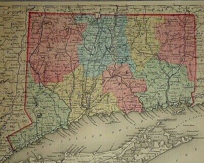 1855 GA MAP Senoia Shannon Shawnee Shellman Soperton Sparks Sparta Spence BIG