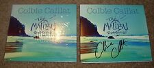COLBIE CAILLAT Hand Signed Autographed CD Booklet New THE MALIBU SESSIONS