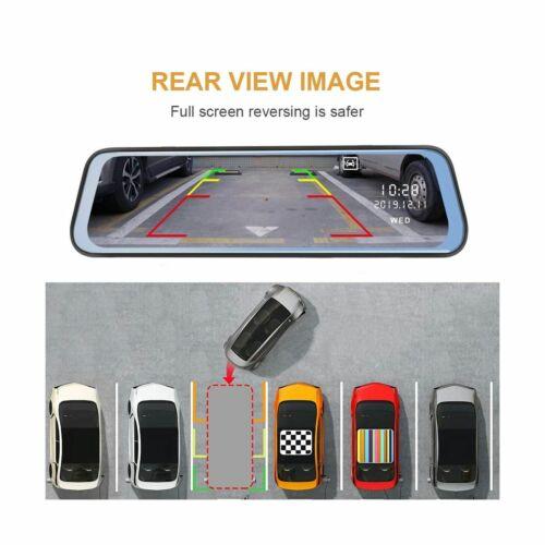 Stream Media Rear View Mirror Camera FHD 1080P Dash Cam Car DVR Video Recorder
