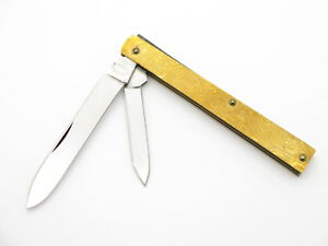 1998-QUEEN-TITUSVILLE-98E-COPPER-ENGRAVED-DOCTOR-PHYSICIAN-FOLDING-KNIFE