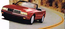 HUGE 1993 CADILLAC Brochure/Catalog:ALLANTE,De VILLE,ELDORADO,SEVILLE,FLEETWOOD,