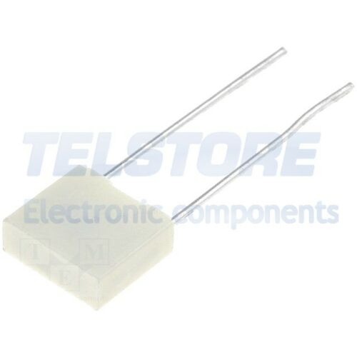 10pcs R82DC3220DQ60K Condensatore in poliestre 220nF 63VDC Retino 5mm ±10/% KEMET