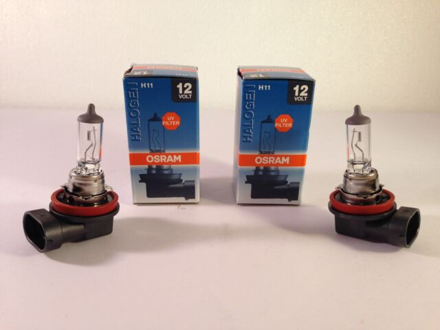 2 Piece Osram H11 12V 55W 64211 L + Bulbs Autolampe Halogen Lamp PGJ19-2