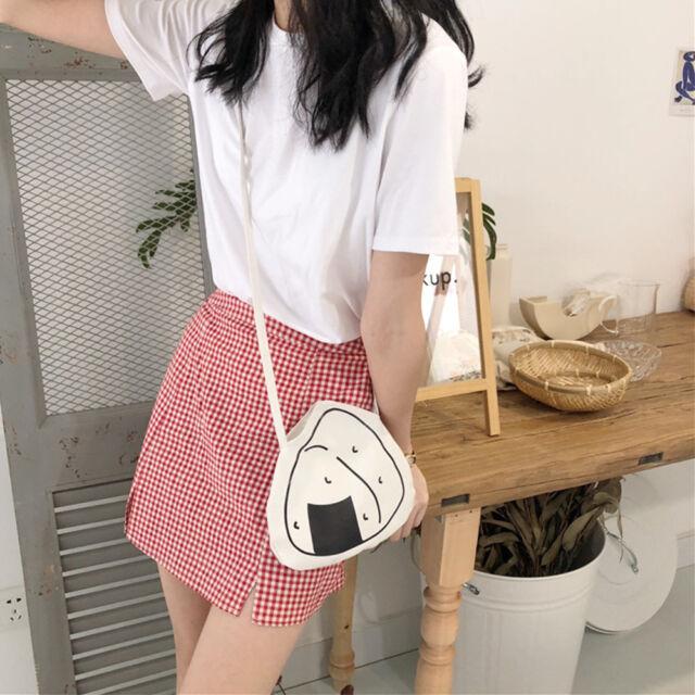 Rice Balls Design Women Handbags Canvas Casual Tote Bags Shoulder Bag C S