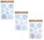 80x-Grande-Natale-Fiocco-Di-Neve-Finestrino-Adesivi-Glitter-finestra-si-aggrappa-Riutilizzabile miniatura 4