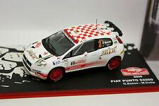 Ixo Presse Rallye Monte Carlo 1/43 - Fiat Punto S2000 2009