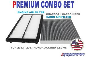Image Is Loading Premium Combo Air Filter Charcoal Cabin For