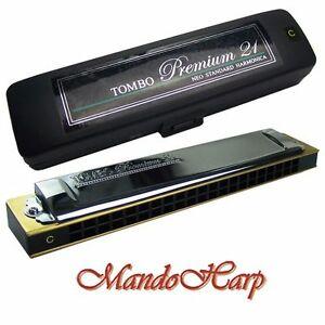 Tombo-Tremolo-Harmonica-Premium-21-SELECT-KEY-NEW