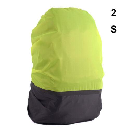 Cycling Travel Bag Raincoat Backpack Rain Cover Reflective  Waterproof Fabrics