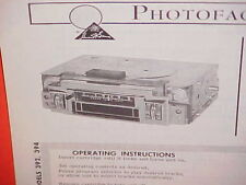1968 DODGE CHARGER R/T CORONET 440 500 SUPER BEE 8-TRACK/AM RADIO SERVICE MANUAL