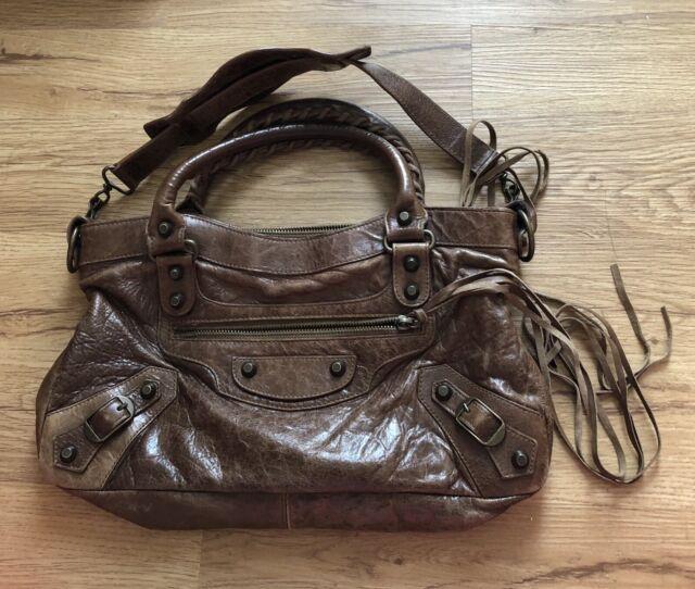 Balenciaga Paris lambskin small satchel
