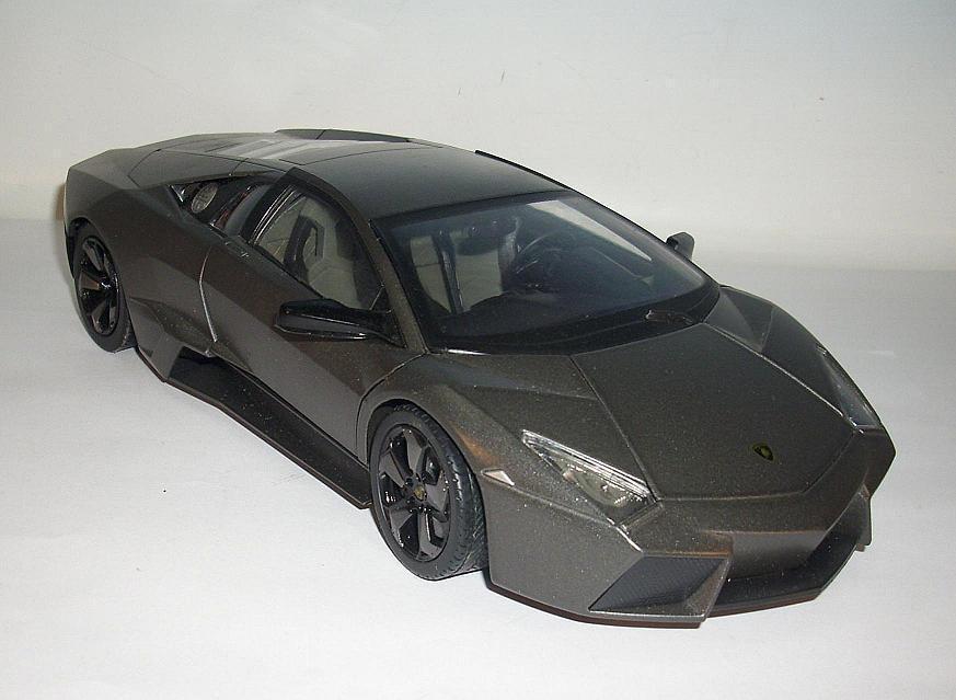 Mondo Motors 1 18 Lamborgini Reventon Metallic Grey OP
