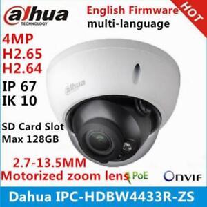 DaHua IPC-HDBW4433R-S 4MP HD 1080P SD Slot H.265 Dome Security IP Camera 2.8MM