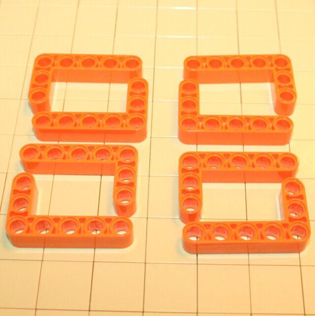 Lego Technik Liftarm breit dick 3x5 Winkel L schwarz 4 Stück »NEU« # 32526