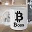 miniature 4 - Bitcoin-Boss-Mug-White-Coffee-Cup-Funny-Gift-for-Cryptocurrency-Trader-Altcoin