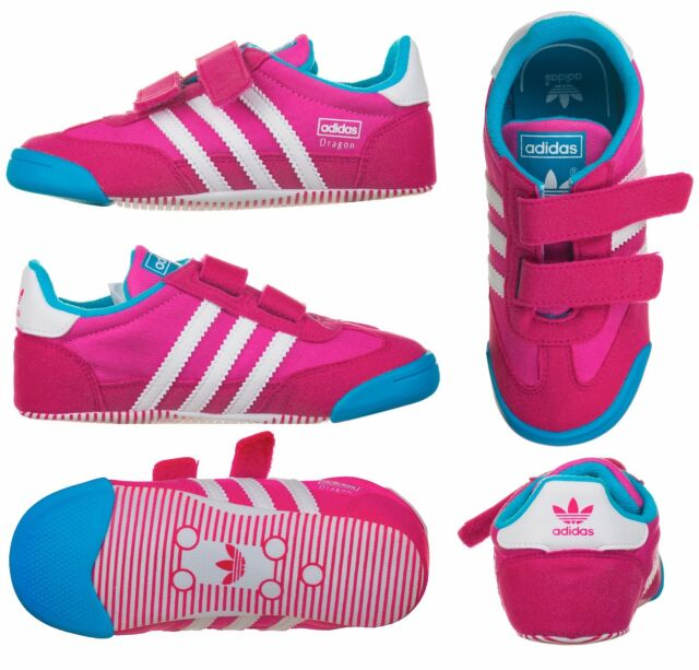 100% authentic 69c78 d5871 Adidas LEARN2WALK Dragon CF Infants Baby Kids Crib Shoes Trainers New and  Boxed