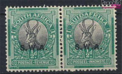 Humorvoll Namibia - Südwestafrika 132-133 Waagerechtes Paar Postfrisch 1930 Fre (9253130