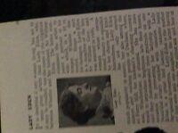 m5-2g ephemera 1912 small article lady eden