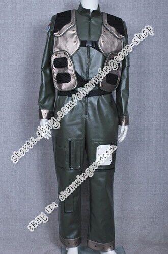 Battlestar Galactica Cosplay Flightsuit Costume Viper Pilot Uniform Whole Set