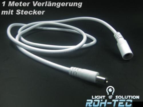 2,1mm Stecker 1m Verlängerungs-Kabel für LED Streifen